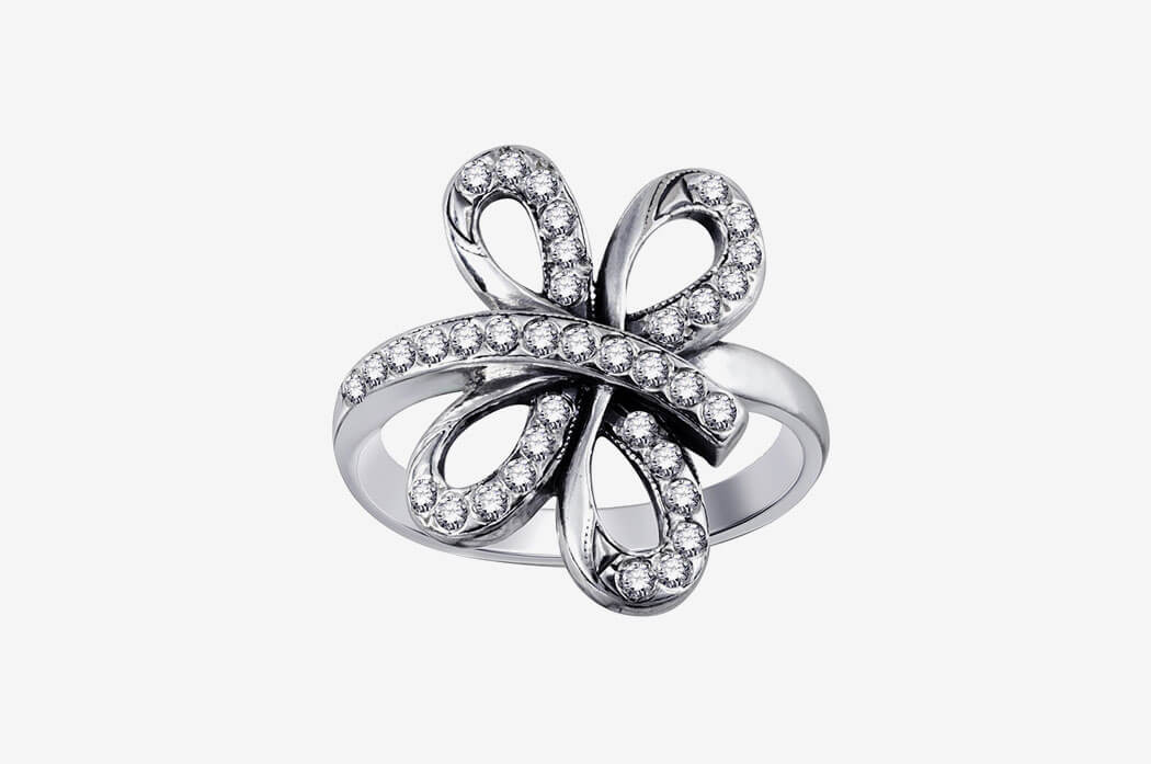 Florida Ivy Diamond Engagement Ring