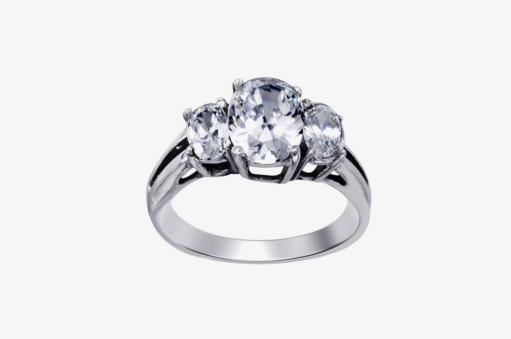 Comfort-Fit Solitaire Engagement Ring